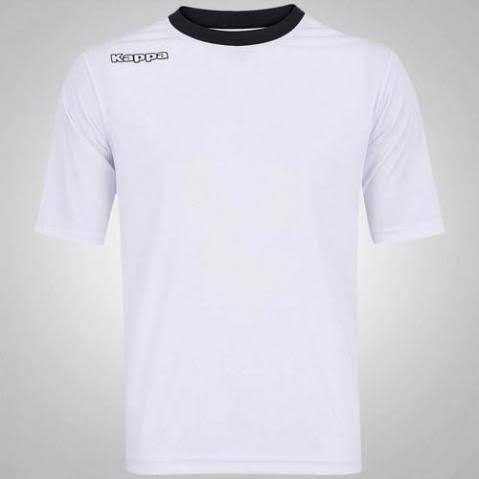 Camiseta Kappa Xoron branca nova original importada 614683a53b415