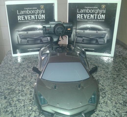 Lamborghini Reventon Automodelo Rc Combustao 110 Radio Ofertas