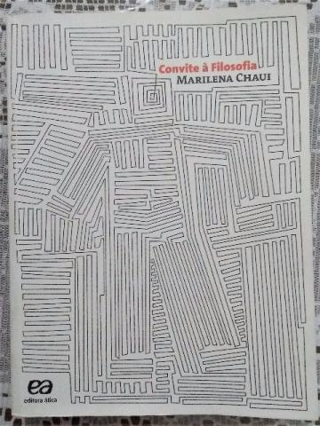 Livro Convite A Filosofia Autora Marilena Chaui Ed Atica Ofertas