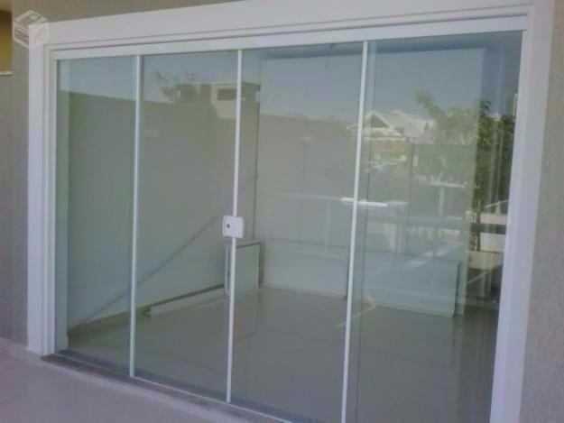 porta 4 folhas de correr em vidro temperado ofertasForPorta 4 Folhas De Vidro Temperado