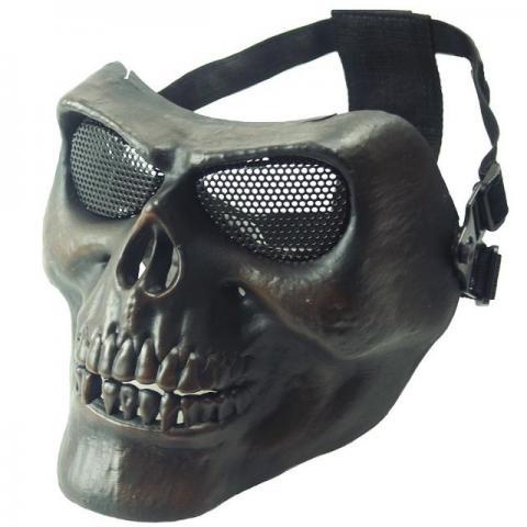 pelicula preta adesivo caveira cranio preto carromoto etc   OFERTAS ... 4d2070b6a30