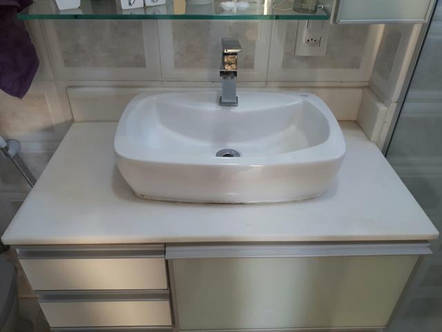 pedra pia banheiro com cuba  Vazlon Brasil -> Cuba Banheiro China