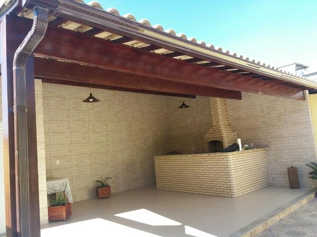 Super telhado colonial e churrasqueira com banca [ OFERTAS ]   Vazlon Brasil HS99