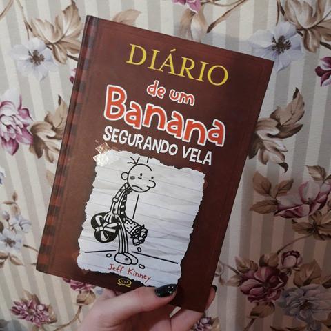livro diario de um banana um romance em quadrinhos