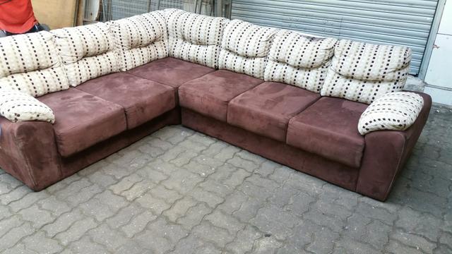 Sofa Em L Retratil 2x3m Detalhes Ofertas Vazlon Brasil
