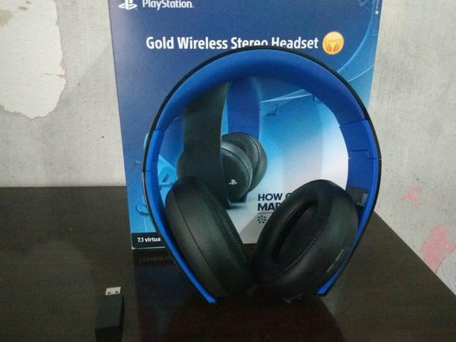 sony gold wireless headset manual