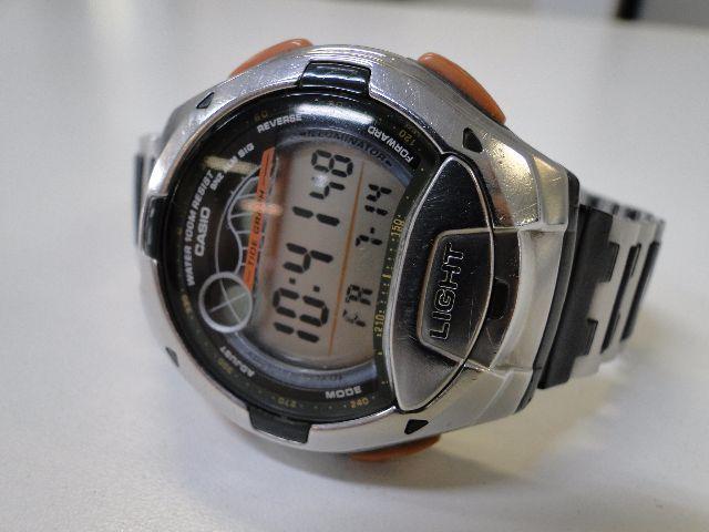 relogio casio aw d7 fishing gear pesca fases lua alarmes de49352c83