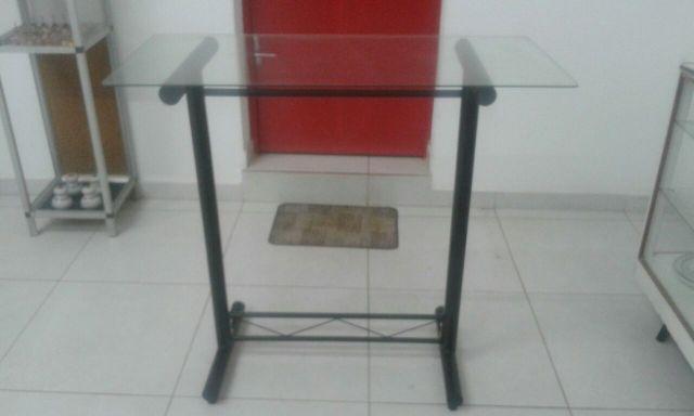 Armario De Cozinha De Madeira ~ aparador de ferro trabalhado e tampo de vidro estilo [ OFERTAS ] Vazlon Brasil