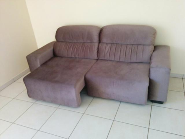 Sofa 3 lugares retratil e reclinavel eureka suede mojave for Sofa 4 lugares retratil e reclinavel caravaggio suede amassado marrom
