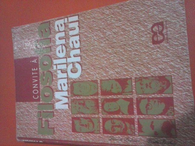 Livro Convite A Filosofia Marilena Chaui Ofertas Vazlon Brasil