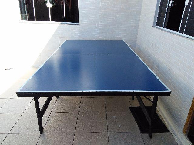 Barbada tenis de mesa ping pong tamanho oficial ofertas for Mesa de ping pong usada
