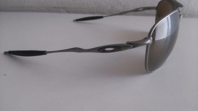 "75d758f656c27 oculos oakley crosshair perfeito estado   OFERTAS     Vazlon Brasil Ã""culos de  Sol Oakley Ti Crosshair Pewter Polarizado ..."