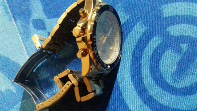 11cfbde1331 relogio vip nautilus dourado masculino esportivo original   OFERTAS ...