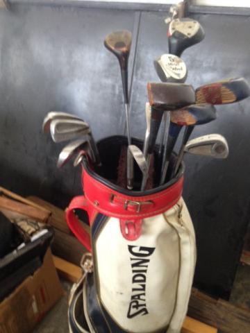 8882fccfe tacos de golf usado com bolsa perfeito estado [ OFERTAS ]   Vazlon ...