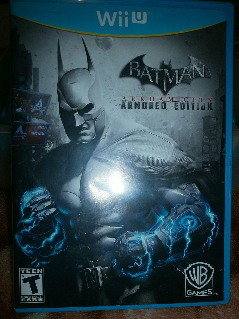 Volante microsoft xbox original vazlon brasil - Jogo Batman Arkham City Wii U A Venda Em Suzano