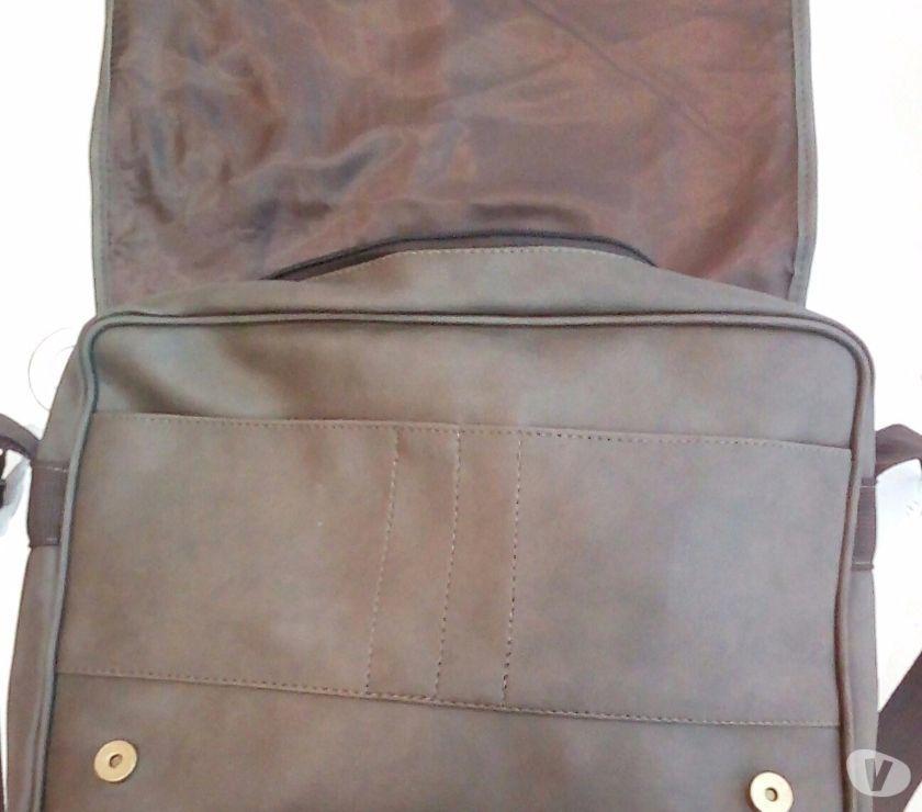 Bolsa De Couro Via Uno : Bolsa carteiro de couro via uno ofertas vazlon brasil
