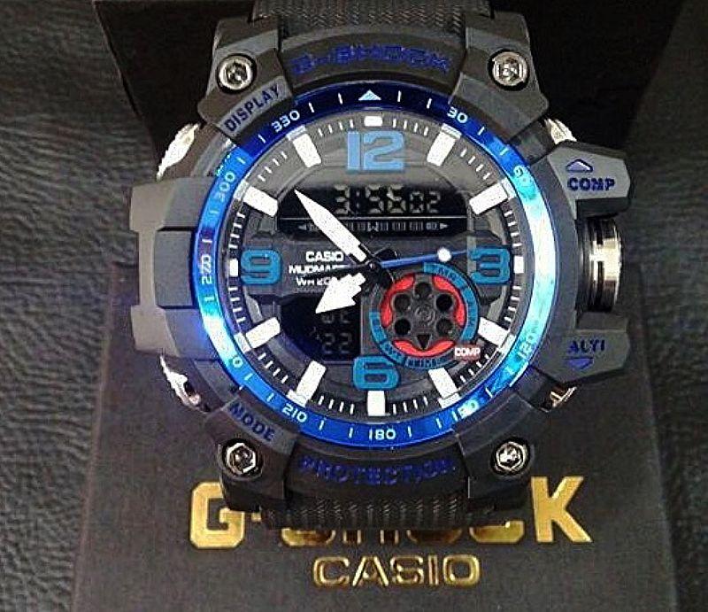 c2f69fd15ba relogio casio g shock black ga100 1a4 a prova d agua pulseira em ...