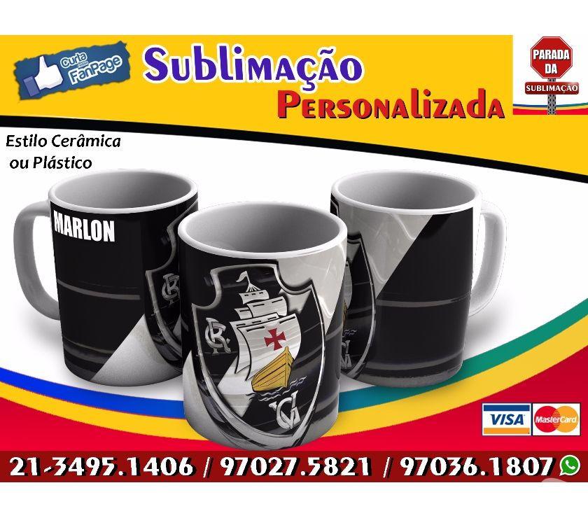 caneca de porcelana flamengo rei do brasil   OFERTAS    70b047e0956f8