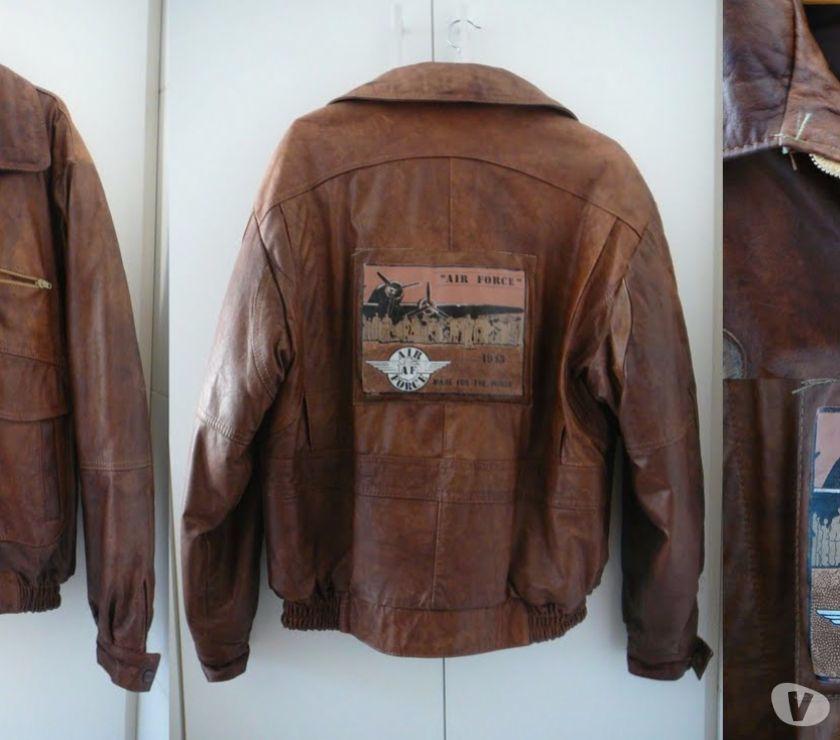 b7971a696 jaquetas de couro feminina e masculina usadas [ OFERTAS ] | Vazlon ...
