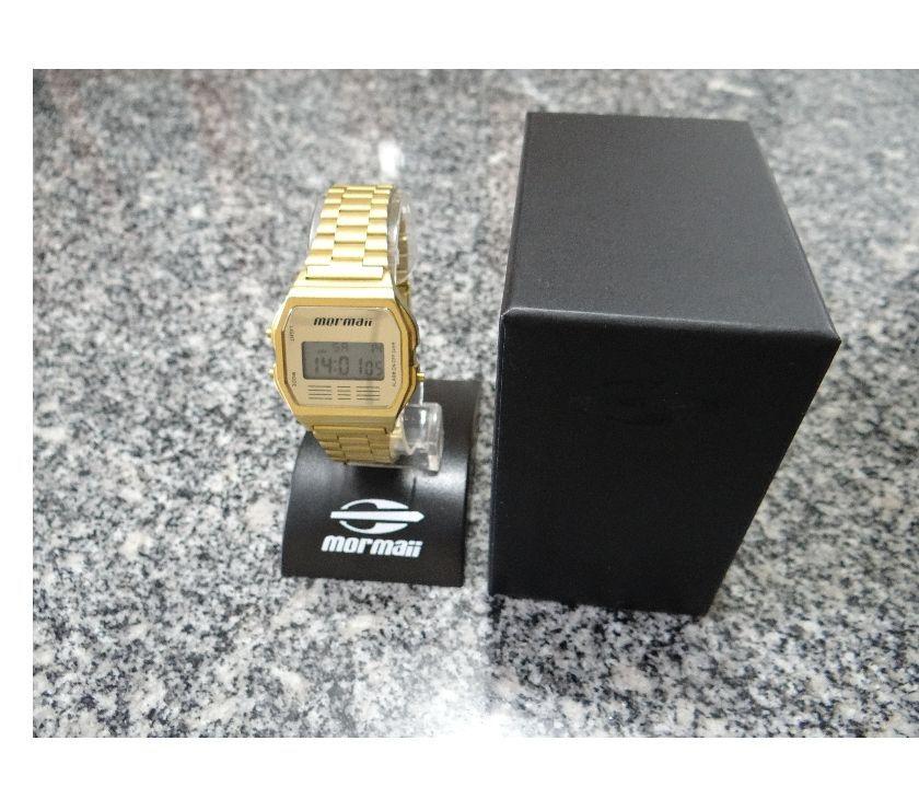 ea60baf26d8ee relogio mormaii vintage digital dourado femininosemi novo   OFERTAS ...
