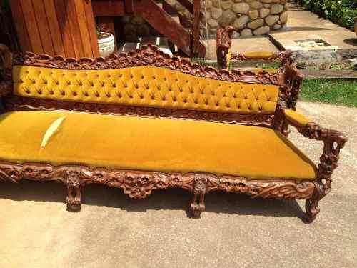 Jogo de sofa estilo colonial ofertas vazlon brasil - Sofas estilo colonial ...