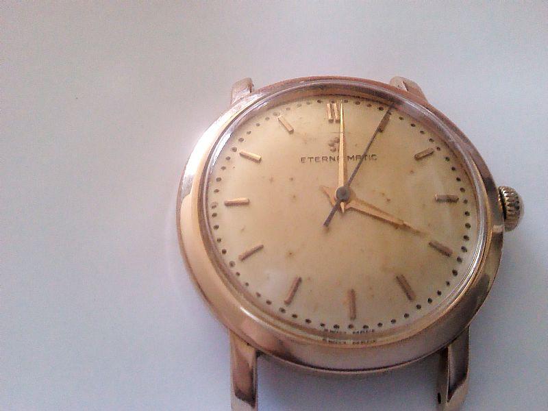 ef592bf799e Relogio eterna caixa em ouro rosa automatico