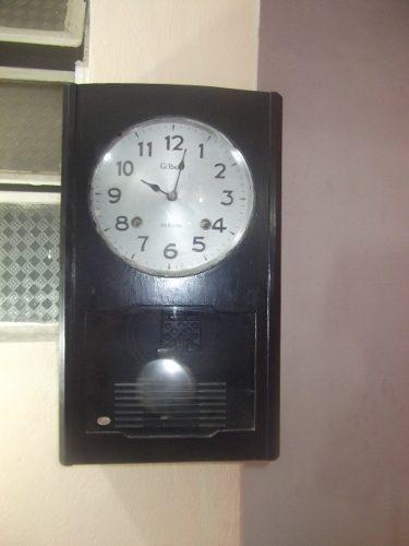 f42142c8485 Relógio De Parede Antigo Japonês Gilbert 31 Dias Rp35 J
