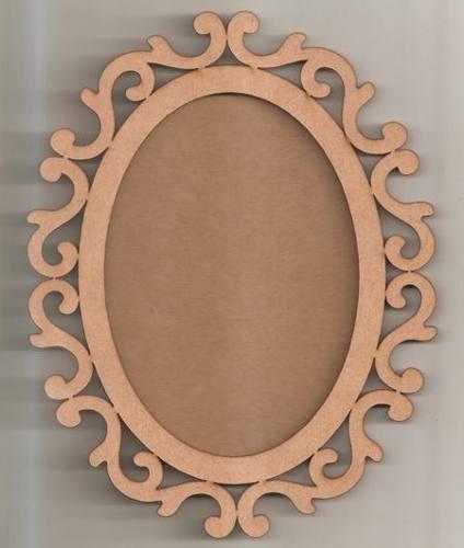 032b92693 moldura espelho oval arabesco 78cm mdf [ OFERTAS ] | Vazlon Brasil