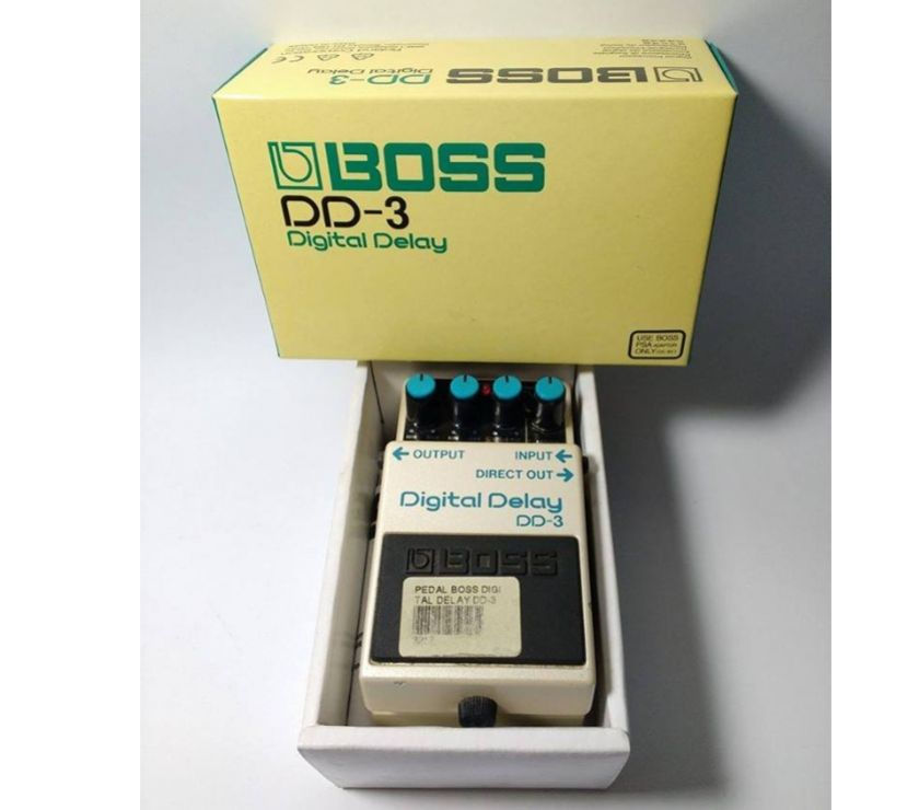 Pedal BOSS Digital Delay DD-3 - semi novo